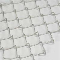 China Aluminum clad steel Chain Link Fence wholesale