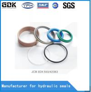 China Backhoe Loaders Hydraulic Jack Seal Kit , Hydraulic Jack Rebuild Kit 550-42383 3dx 3cx wholesale