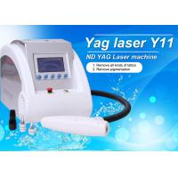 China Y11 - Portble 1064 / 532 / 1320nm Q Switch ND YAG Laser Tattoo Removal Machine wholesale