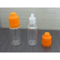 e liquid 10ml bottles small pet bottle&childproof cap pet plastic bottle manufacturer