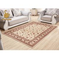 Professional Indoor Outdoor Persian Rug , Large Persian Style Rugs Waterproof