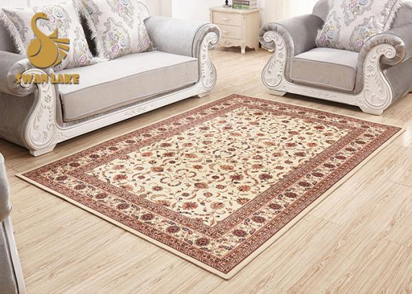 Quality Professional Indoor Outdoor Persian Rug , Large Persian Style Rugs Waterproof for sale
