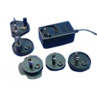China PS1018 AC-DC switching power supply with interchangeable AC plugs made in China wholesale