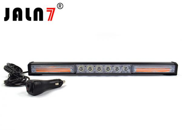 Quality White And Yellow Vehicle Strobe Light Bar With Switch For Jeep SUV for sale