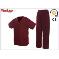 China Nontoxic Fashion Hospital Medical Scrubs Nursing Uniforms Quick Dry on sale