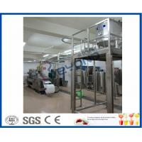 China Full Automatic Milk Dairy Machinery For Flavoured Milk Manufacturing Process wholesale