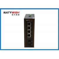China Metal Housing Industrial Fiber Switch 143 X 104 X 48mm High Durability Easily Positioned wholesale