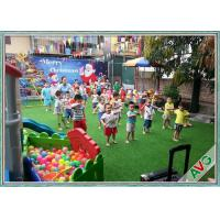 China ISO / SGS Qualified Artificial Grass For Children Friendly Playground Turf wholesale