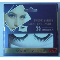 China Natural False Eyelash 3D hand-made private label mink eyelashes K06 wholesale