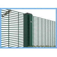 Buy cheap PVC Coated Woven Wire Mesh Panels Galvanized Core Wire Sturdy For Prison from wholesalers