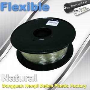 China Soft pla filament 1.75 / 3.0 mm  Flexible 3d Printer Filament for 3d  printing wholesale
