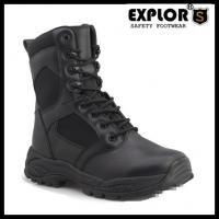 China ladies combat boots military boots for men and women safety boots black boots on sale