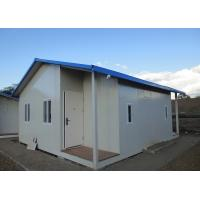 China Fast Construction Prefab Steel Houses Sandwich Panel For Worker Residential Camp on sale