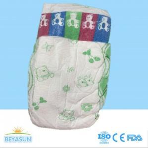 China Softlove daydry comfort disposable baby diaper, magic tape clothlike backsheet on sale