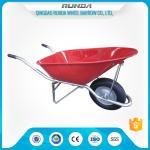 China Construction Heavy Duty Wheelbarrow WB8900 Pneumatic Wheel 16x4.00-8 180kgs Load wholesale