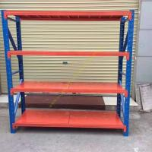 China Custom Fitted Warehouse Storage Racks / Medium Duty Steel Pallet Rack Shelving wholesale