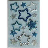 China Lovely Bling Rhinestone Stickers , Recollections Dimensional Stickers  For Scrapbooking on sale