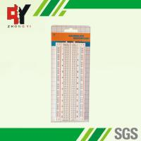 China 840 Points Simple Electronics Projects On Breadboard Self - Adhesive Paper on sale