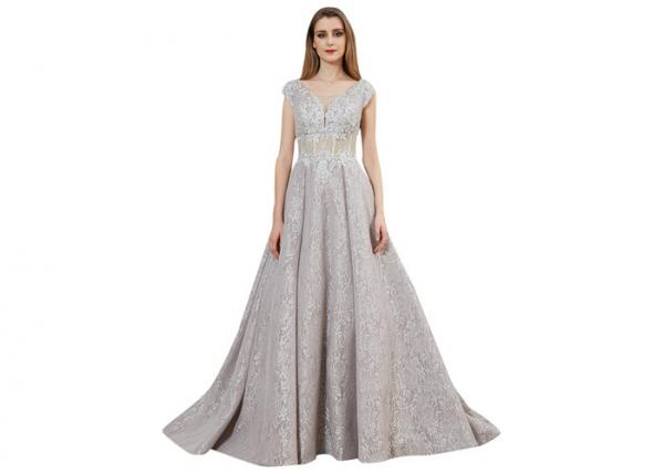 Quality Customize Pretty Simple Prom Dresses , Maxi Evening Cocktail Elegant Prom Dresses for sale