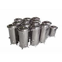 China Chemical Cartridge Liquid Filter Housings 10 Inch For Wound Filter / Meltblown Filter wholesale