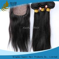 Soft thick Malaysian Virgin Hair Extension , Unprocessed Malaysian Virgin Hair Silky Straight for sale