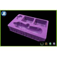 China Cosmetic Packaging Inner Flocking Tray , Customized Plastic Blister Packaging wholesale