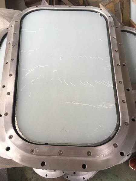 Quality Marine Fixed Wheelhouse Windows With Aluminum Marine Windows Frame for sale