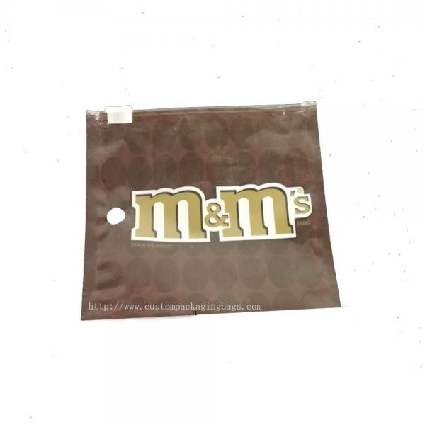 Quality Mini Lovely Mall Plastic Ziplock Bags , Sealable Plastic Bags For Chocolate Beans Storage for sale