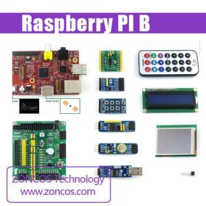 China Raspberry PI B + 9 pcs peripheral expansion board module + Raspberry PI case wholesale