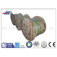 Buy cheap High Carbon Steel Wire Rope 12mm Dia For Llift , 10m-2000m / Reel Length from wholesalers