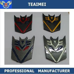 China Carbon Fiber Custom Car Emblems Symbol Transformers Insignia wholesale
