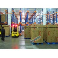 China Warehouse Automated Radio Shuttle Racking Cold Supply Chain Pallet Shuttle System wholesale