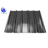 China Weather Resistant Resin Plastic Corrugated Roofing Sheets For Building Construction Materials wholesale