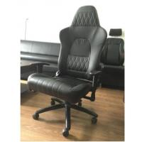 China Modern Black Ergonomic Swivel Office Chair With Wheels / Adjustable Desk Chair on sale
