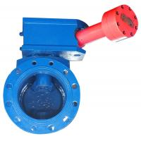 China Self Cleaning Half Ball Valve / Cast Iron Ball Valve Easy Long Distances Control on sale