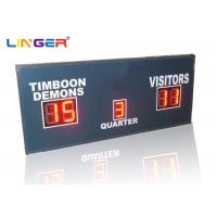 China Small Red Simple Function Electronic LED Football Scoreboard only with Scores and Period wholesale