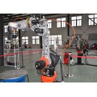 China Smart CNC CO2 Welding Robot Touch Sensing Stable Wire Feeding For Oil Tank wholesale