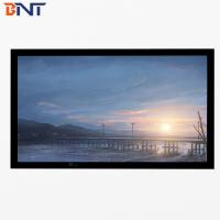 China 4:3 format 120 inch screen fixed frame with black velvet surface BETFS4-120 wholesale
