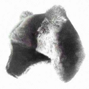 China Fake fur trapper hat wholesale
