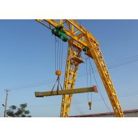 China Electric Travelling Single Girder Gantry Crane with Truss Type / Box Type Available wholesale
