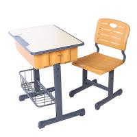 China Colorful study room furniture desk chair height adjustable kids plastic table and chair set on sale