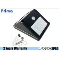 China Garden Solar Power Led Work Light , 240 Lumens Outdoor Security Wall Lights wholesale