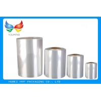 China Soft PVC Heat Shrink Film Rolls 45% ~ 50% Shrinkage  For Label Printing wholesale