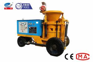 China Wet Shotcrete Concrete Gunite Machine For Underground Project wholesale