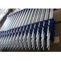 Powder Coated Zinc Steel Tubular Fence For Public Facilities Fences