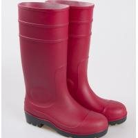 China safety boot, steel toe pvc rain boot, work farm boots ,rubber boots wholesale