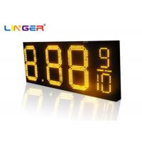China Waterproof RF Controller  LED Gas Station Price Sign for 12 inch ,Oil Screen Supplier wholesale