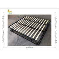 China Double Deck Iron Bed Frame With King Or Queen Size , Knock Down Bed Frame on sale
