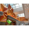 China Folded 3D Aluminum Facade Panels , Aluminum Curtain Wall 600x1200mm Size wholesale