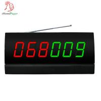 China Restaurant equipment screen  receiver with color nixie tube diapaly and  English voice report on sale